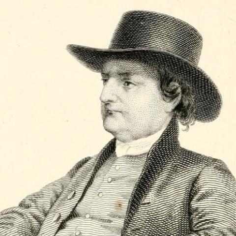 Illustration of Isaac T. Hopper